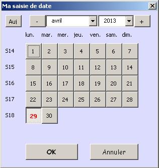 Excel vba inputbox avec liste d roulante documentation for Ouvrir plusieurs fenetre excel